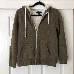 Forever21 | Sherpa hoodie